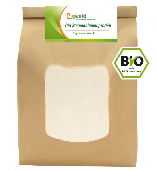 BIO Sonnenblumenprotein - 1 kg Vorratspack