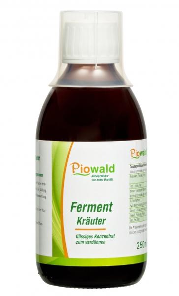 Piowald Ferment Kräuter - 250 ml
