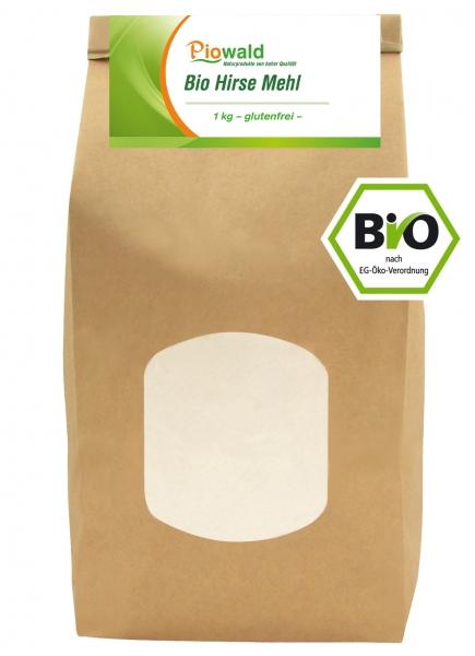 BIO Hirse Mehl - 1 kg, glutenfrei