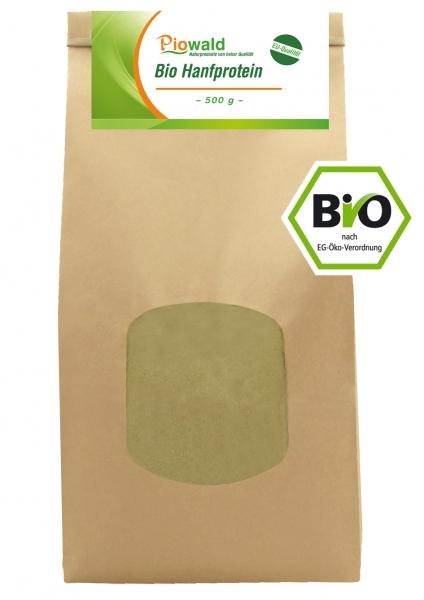 BIO Hanfprotein - 500g aus der EU