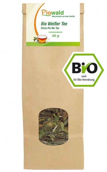 BIO Weißer Tee - 50g loser Tee