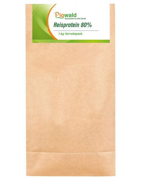 Reisprotein 80% - 1 kg Vorratspack, glutenfrei