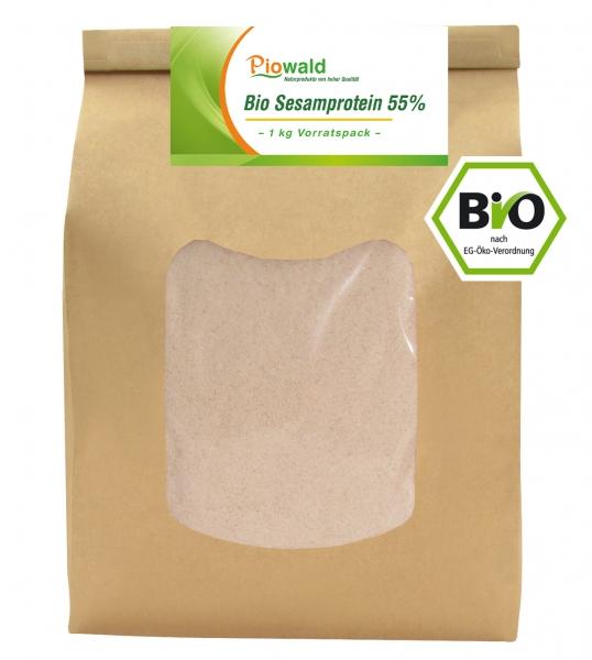 BIO Sesamprotein 55% - 1 kg Vorratspack
