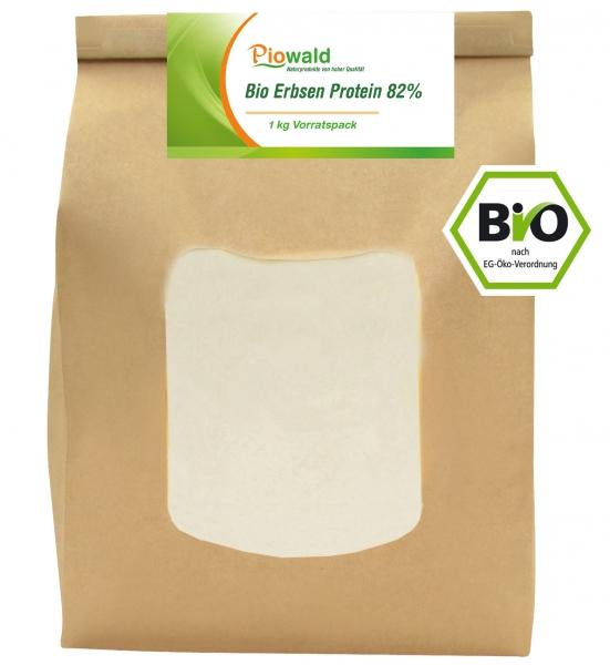 BIO Erbsenprotein - Isolat - 1 kg Pulver