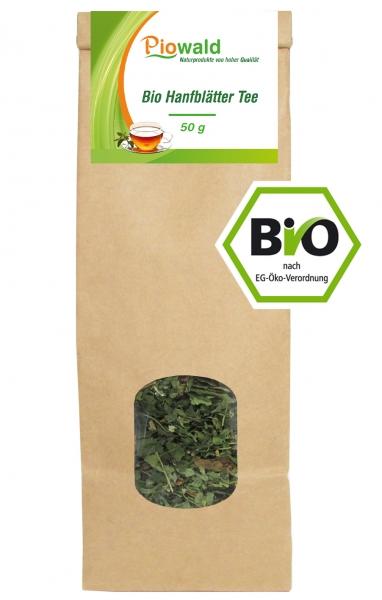 BIO Hanfblätter Tee - 50g loser Tee