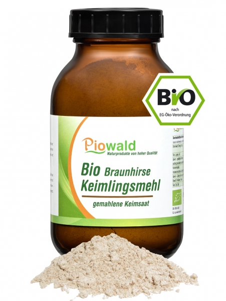 BIO Braunhirse Keimlingsmehl - 200g, glutenfrei