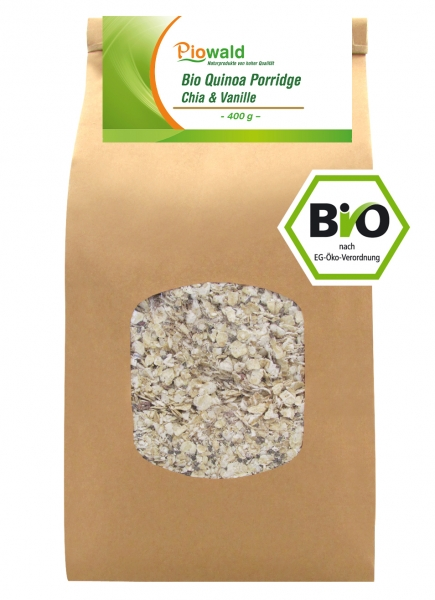BIO Quinoa Porridge - Chia & Vanille 400g