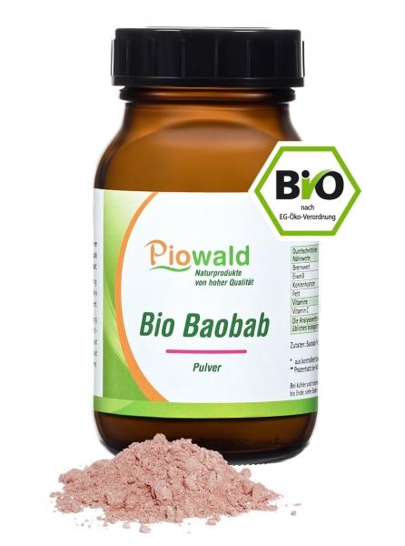 BIO Baobab Frucht - 100g Pulver