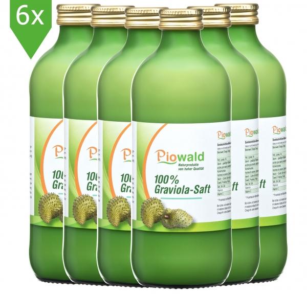Graviola Saft - 6x500 ml Sparpack
