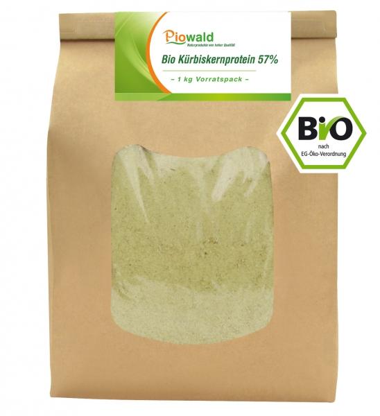 BIO Kürbiskernprotein 57% - 1 kg Vorratspack