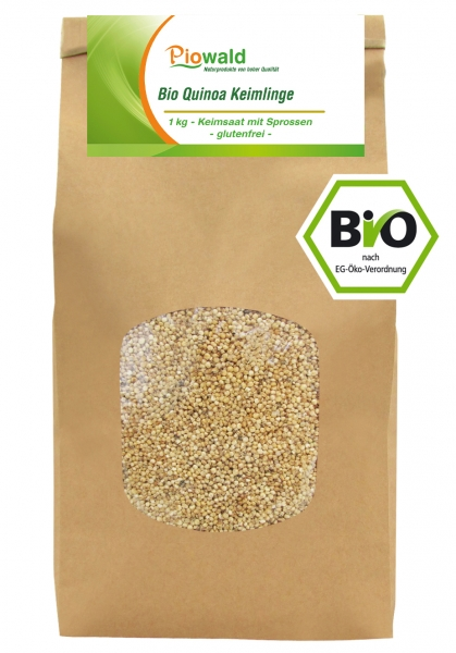 BIO Quinoa Keimlinge - 1 kg, glutenfrei