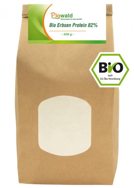 BIO Erbsenprotein - Isolat - 500g Pulver