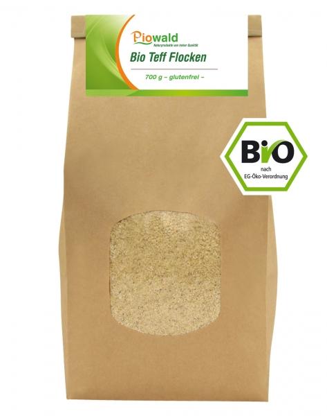 BIO Teff Flocken - 700g, glutenfrei