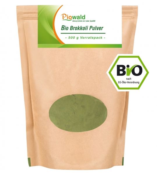 BIO Brokkoli Pulver - 500g Vorratspack