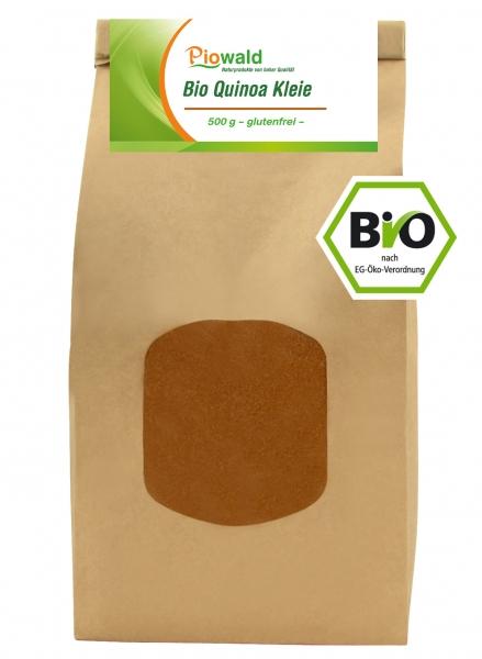 BIO Quinoa Kleie - 500g, glutenfrei