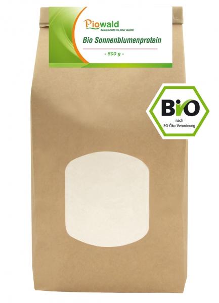 BIO Sonnenblumenprotein - 500g Nachfüllpack
