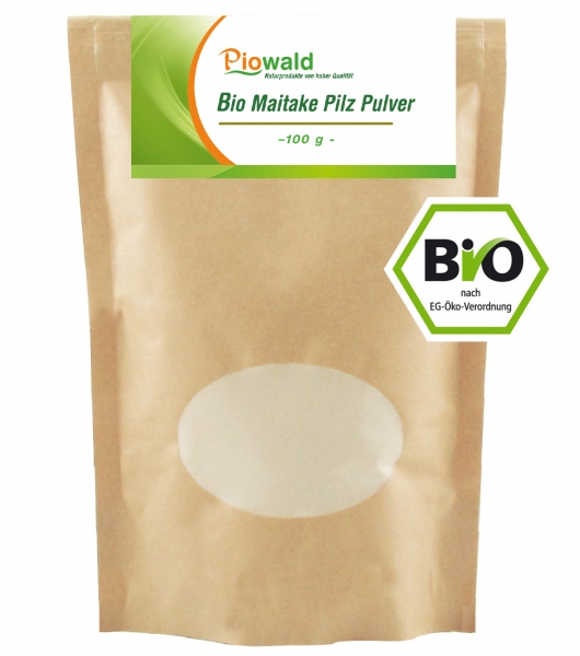 BIO Maitake Pilz Pulver - 100g