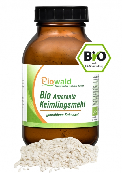 BIO Amaranth Keimlingsmehl - 200g, glutenfrei