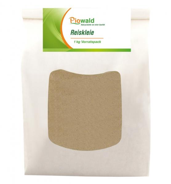 Reiskleie - 1 kg Vorratspack