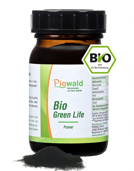 BIO Vitalpulver Green Life® - 100g Pulver