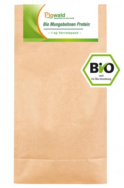 BIO Mungobohnen Protein - 1 kg Vorratspack