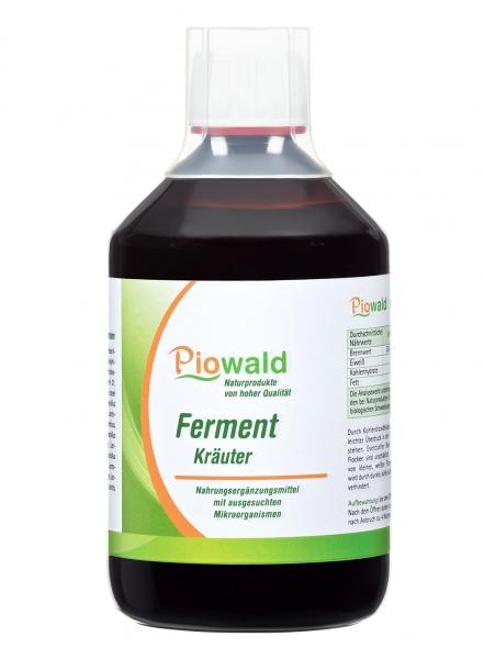 Piowald Ferment Kräuter - 500 ml