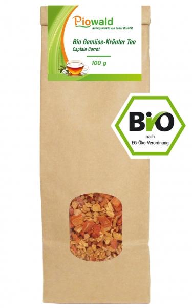 BIO Gemüse-Kräuter Tee Captain Carrot - 100g loser Tee
