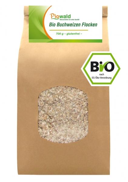 BIO Buchweizen Flocken - 700g, glutenfrei