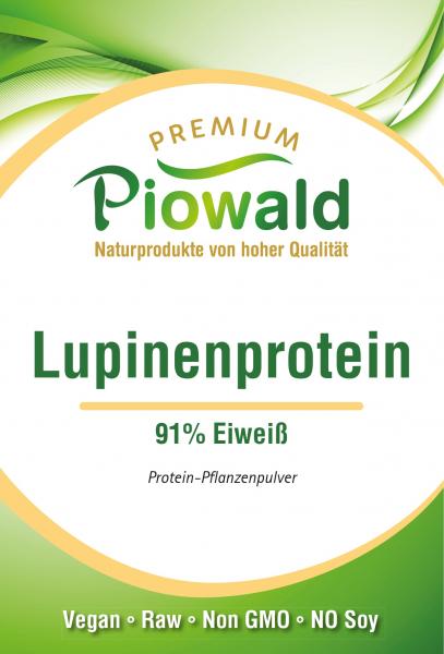 Lupinenprotein Isolat 91% - 250g