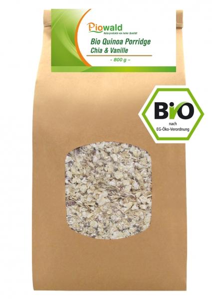 BIO Quinoa Porridge - Chia & Vanille 800g
