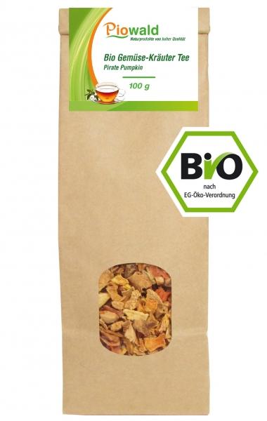 BIO Gemüse-Kräuter Tee Pirate Pumpkin - 100g loser Tee