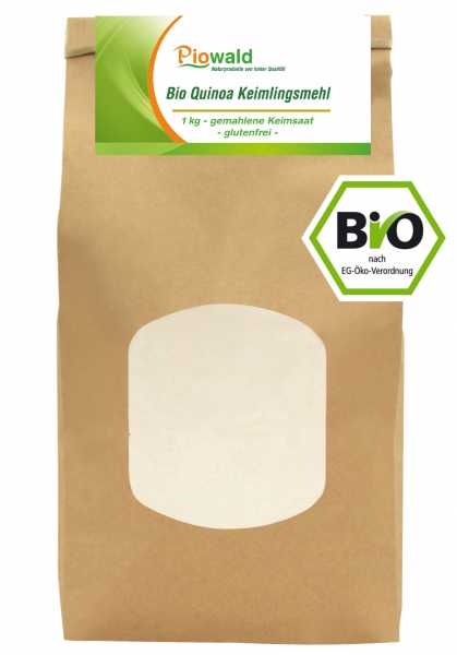 BIO Quinoa Keimlingsmehl - 1 kg, glutenfrei