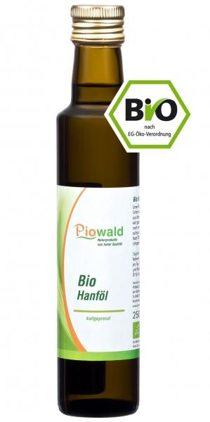BIO Hanföl - 250 ml kaltgepresst