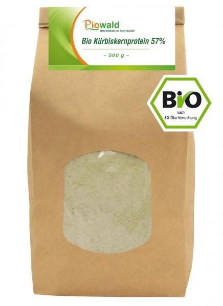 BIO Kürbiskernprotein 57% - 500g Nachfüllpack
